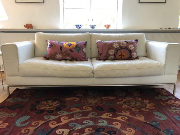 Sofa skåle puder tæppe